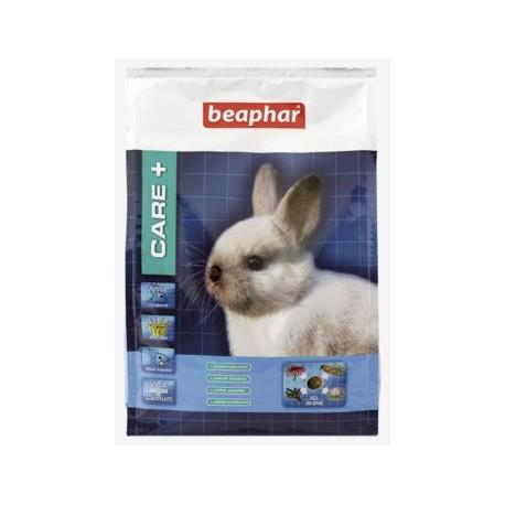 Alimento Care+ para conejos junior
