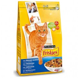 Friskies Gatos Adulto Bacalao