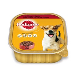 Pedigree Wet Buey e Hígado