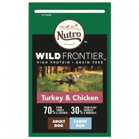Nutro Wild Frontier Pavo y Pollo Grandes
