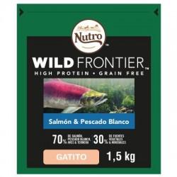 Nutro Wild Frontier Gatito Salmón y Pescado Blanco