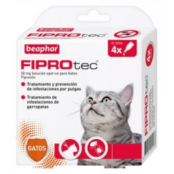 Pipeta Fiprotec gatos