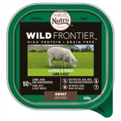 Nutro Wild Frontier Cordero y Ternera