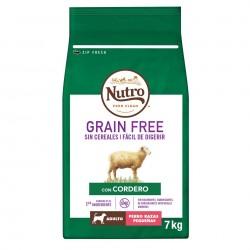 Nutro Grain Free Adulto Cordero Razas Pequeñas