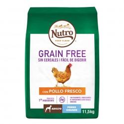 Nutro Grain Free Adulto Pollo Razas Grandes