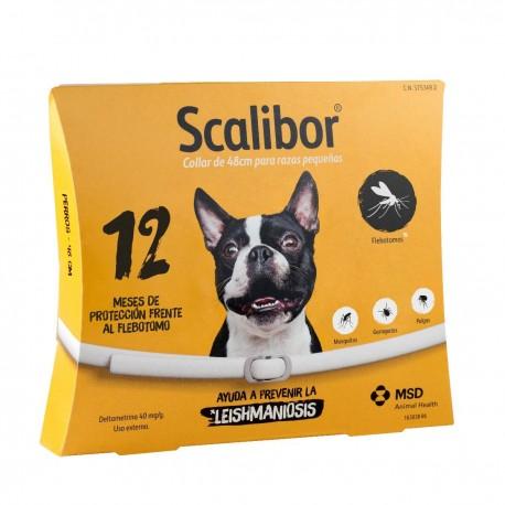 Collar Antiparásito Scalibor Perros Pequeños