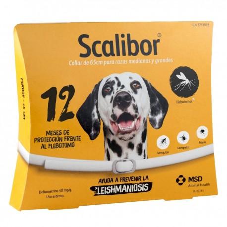 Collar Antiparásito Scalibor Perros Grandes