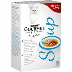 Purina Gourmet Crystal Soup Salmón y Atún