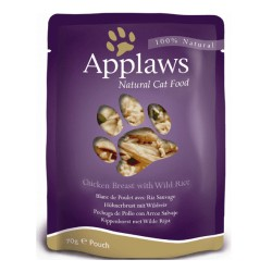 Applaws Pouch Pollo Arroz Silvestre