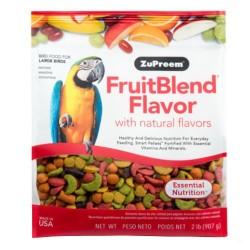 Zupreem Fruitblend Multifrutas Guacamayos