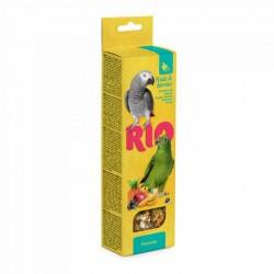 Rio Barritas Fruta Bayas Loros