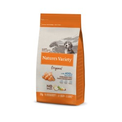 Nature's Variety No Grain Puppy Salmón