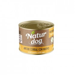 Naturdog Grain Free Ave de Corral con Huevo