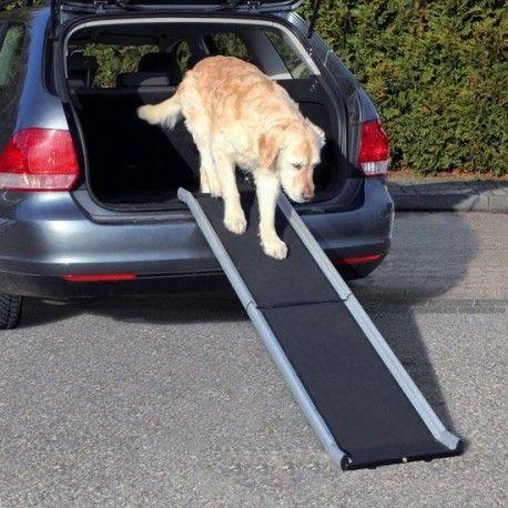 Rampa de aluminio perros