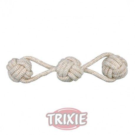 Juego de cuerda con tres pelotas Denta Fun