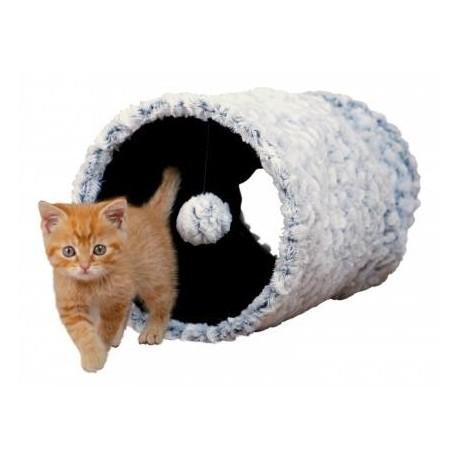 Túnel de juego suave para gatos