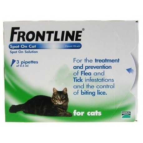 Pipetas Frontline Spot On para gatos