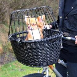 Cesta Bicicleta para perros