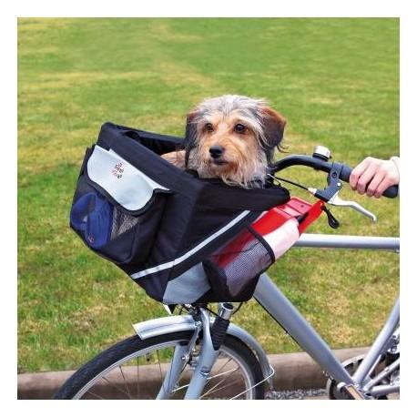 Cesta para mascotas en bicicleta