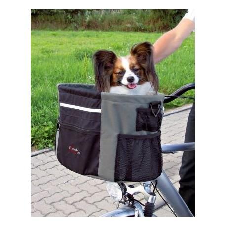Cesta para paseo de mascotas en bici