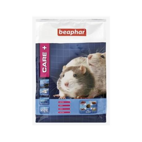 Alimento Care+ para ratas