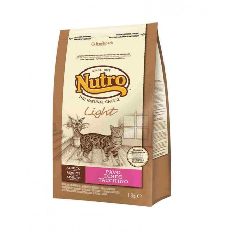 Nutro Light Pavo gatos