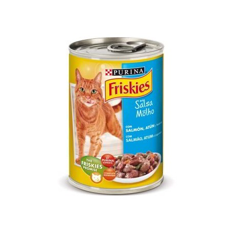 Friskies Salmón y Atún en Salsa