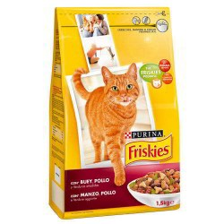 Friskies Gatos Adulto Buey