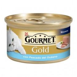 Gourmet Gold Mousse Pescado Océano