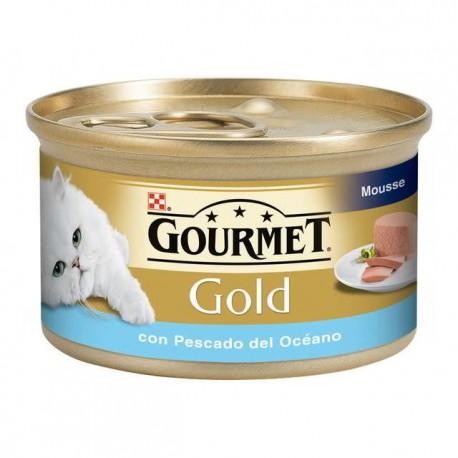 Gourmet Gold Mousse Pescado del Océano