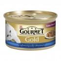Gourmet Gold Doble Placer Pescado y Espinacas