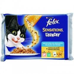 Felix Sensations Crunchy Pescados