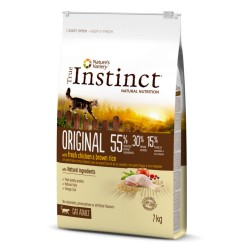 True Instinct Original Adult Pollo Gatos