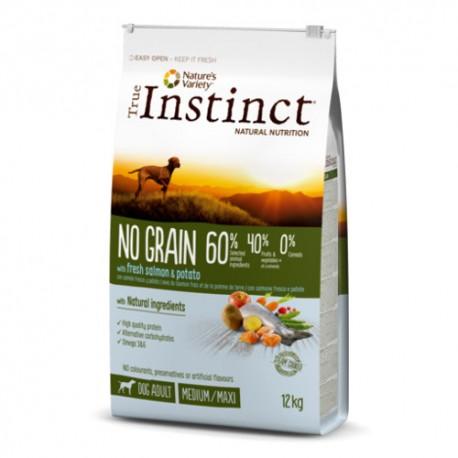 True Instinct No Grain Adult Medium-Maxi Salmón