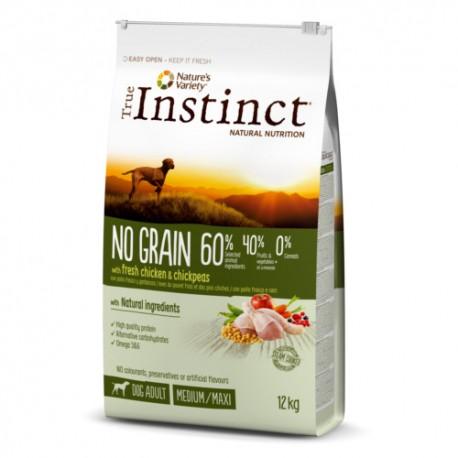 True Instinct No Grain Adult Medium-Maxi Pollo