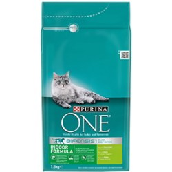 Purina One Gatos Interior Pavo