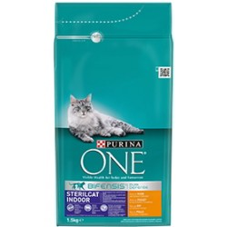 Purina One Gatos Esterilizados Interior Pollo