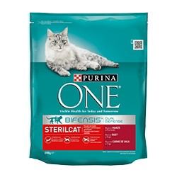 Purina One Gatos Esterilizados Buey
