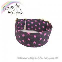 Collar Martingale Pink Stars