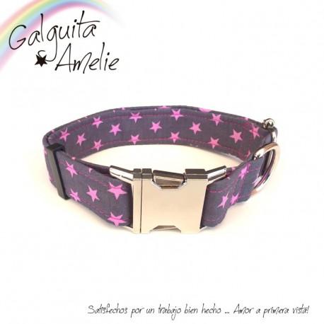 Collar Clic Pink Star