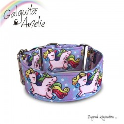 Collar Martingale Unicorn Rainbow