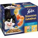 Felix Sensations Gelatinas Pescados Multipack