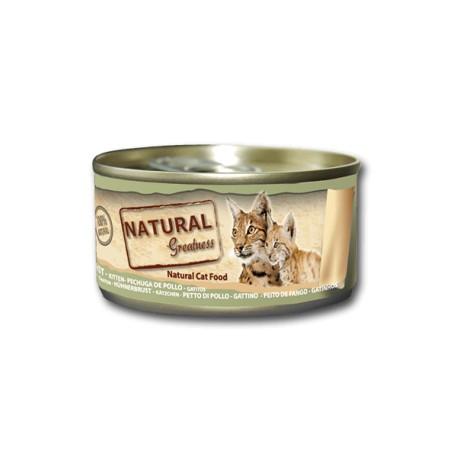 Pechuga de Pollo Natural Gatitos