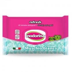 Inodorina Toallitas Refresh Musgo Blanco