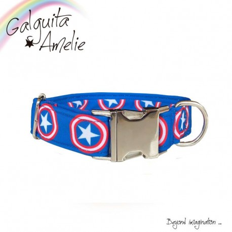 Collar Clic Capitán América