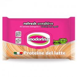 Inodorina Toallitas Refresh Sensitive Proteína de Leche