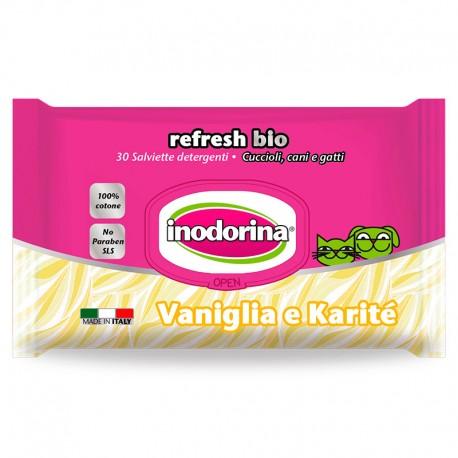 Inodorina Toallitas Refresh Bio Vainilla y Karité