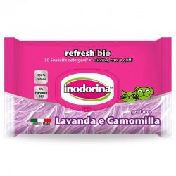 Inodorina Toallitas Refresh Bio Lavanda y Manzanilla