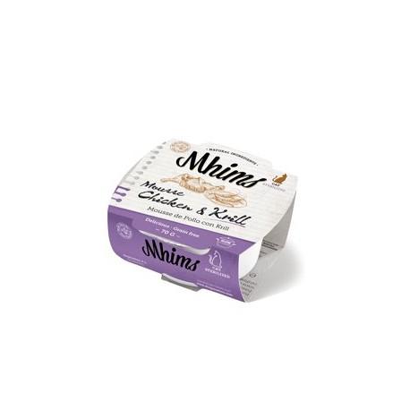 Mhims Mousse Pollo con Krill Esterilizados
