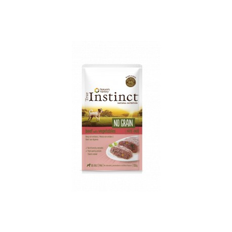 True Instinct No Grain Mini Paté Buey con Verduras